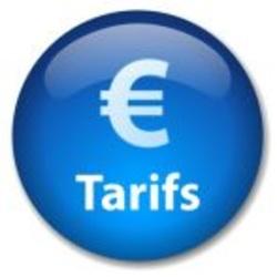 Tarifs*